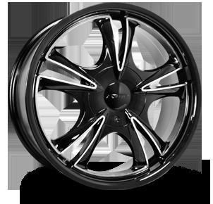 F58 Dark Five Tires